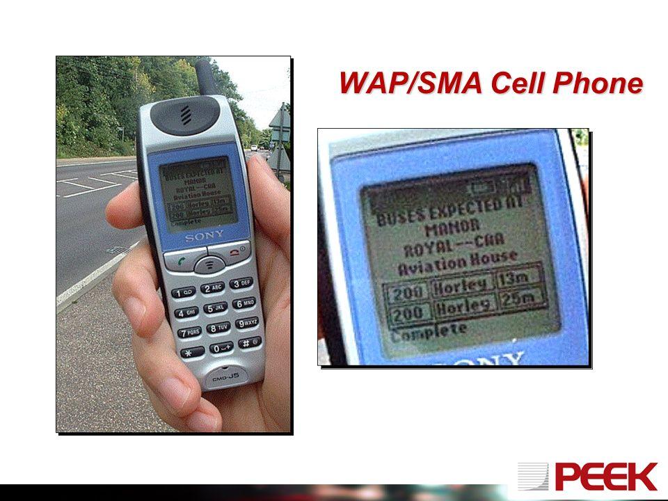 WAP/SMA Cell Phone