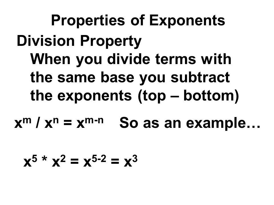 Homework Answers 34) x 4 y -7 = x 4 (1/y 7 ) 39) (-4x) -3 31) (3) 4 = x 4 /y 7 = (-4) -3 x -3 = 1/((-4) 3 x 3 ) = 1/(-64x 3 ) (x) 4 = 81 x 4