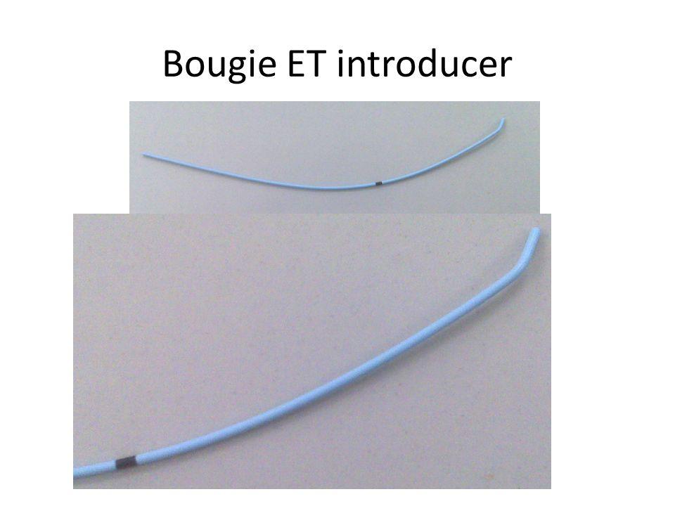 Bougie ET introducer