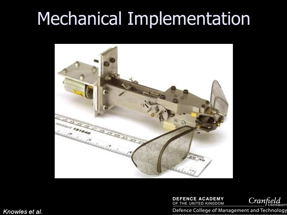 Knowles et al. Mechanical Implementation