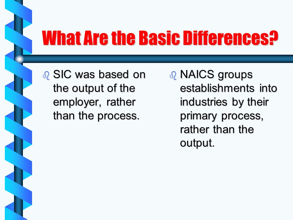What Are the Basic Differences.