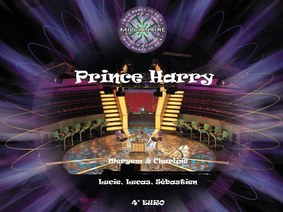 Where was Prince Harry born ? A London B Washington C Edinburgh D Dublin