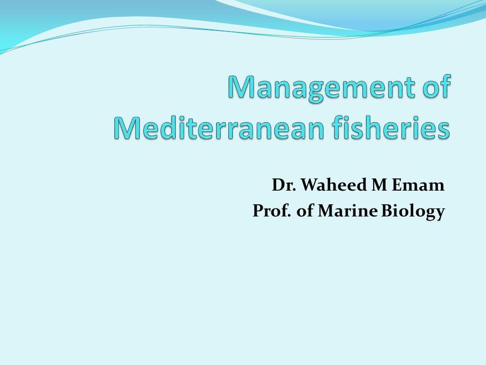 Dr. Waheed M Emam Prof. of Marine Biology