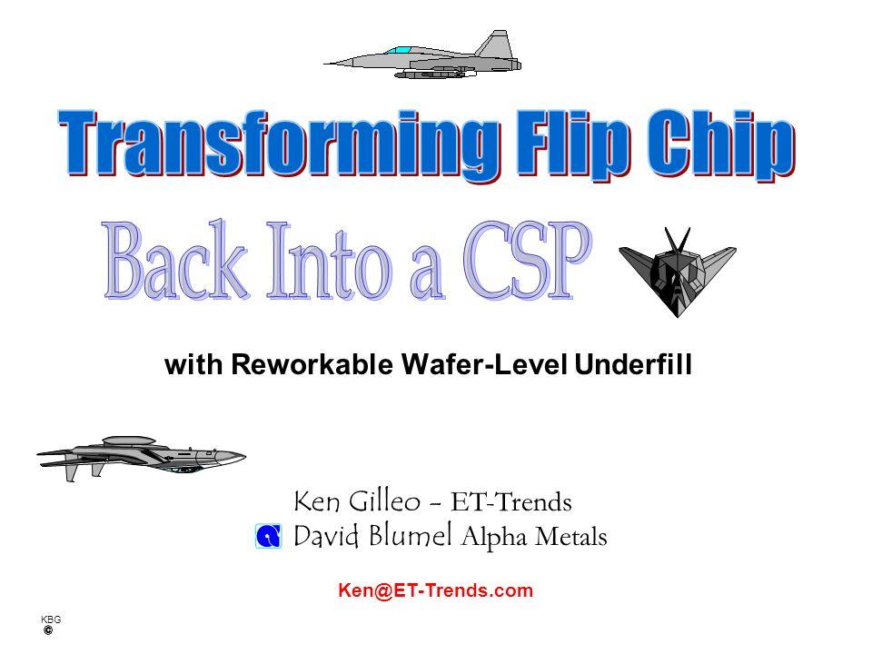 KBG Is Flip Chip a True PACKAGE? Is Flip Chip a True PACKAGE?