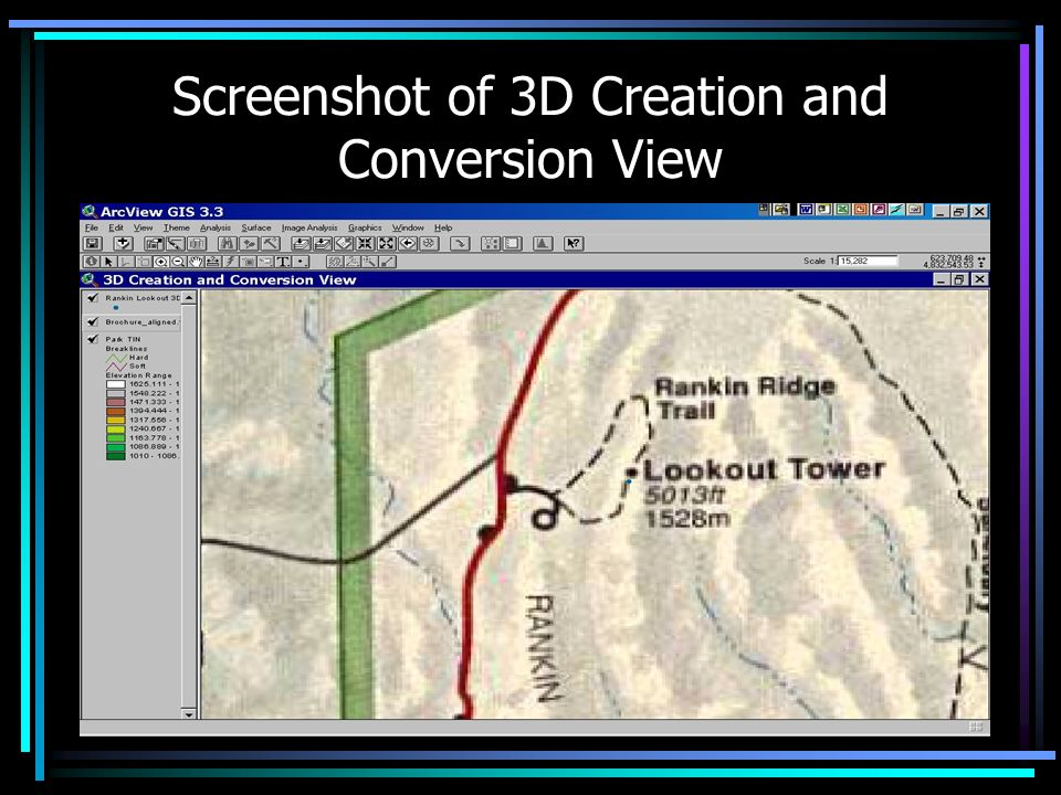 Screenshot of 3D Creation and Conversion View