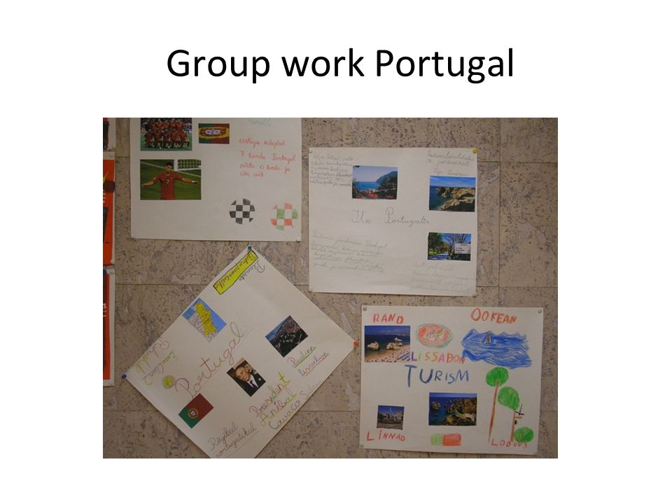 Group work Portugal