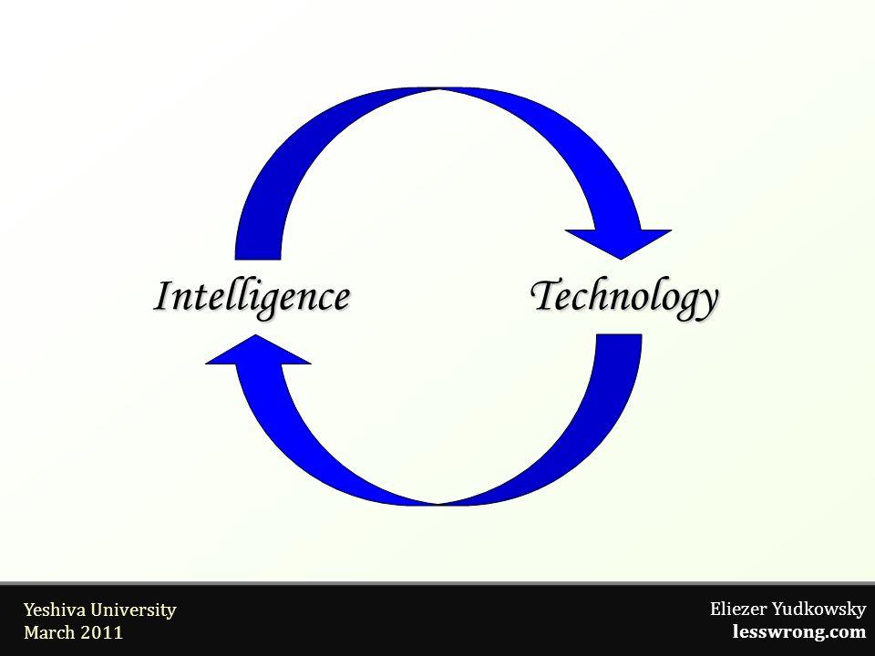 Eliezer Yudkowsky lesswrong.com Yeshiva University March 2011 IntelligenceTechnology Intelligence Technology
