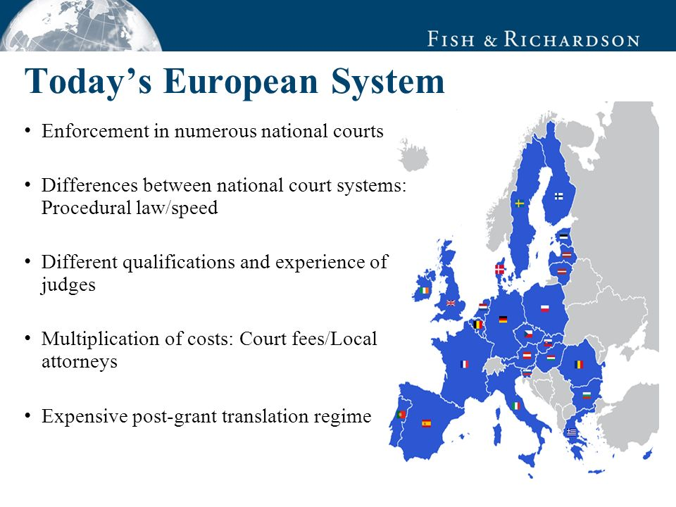 Reasons for Forum Selection DC Mannheim Federal Patent Court DC Düsseldorf Quality of the judiciary.