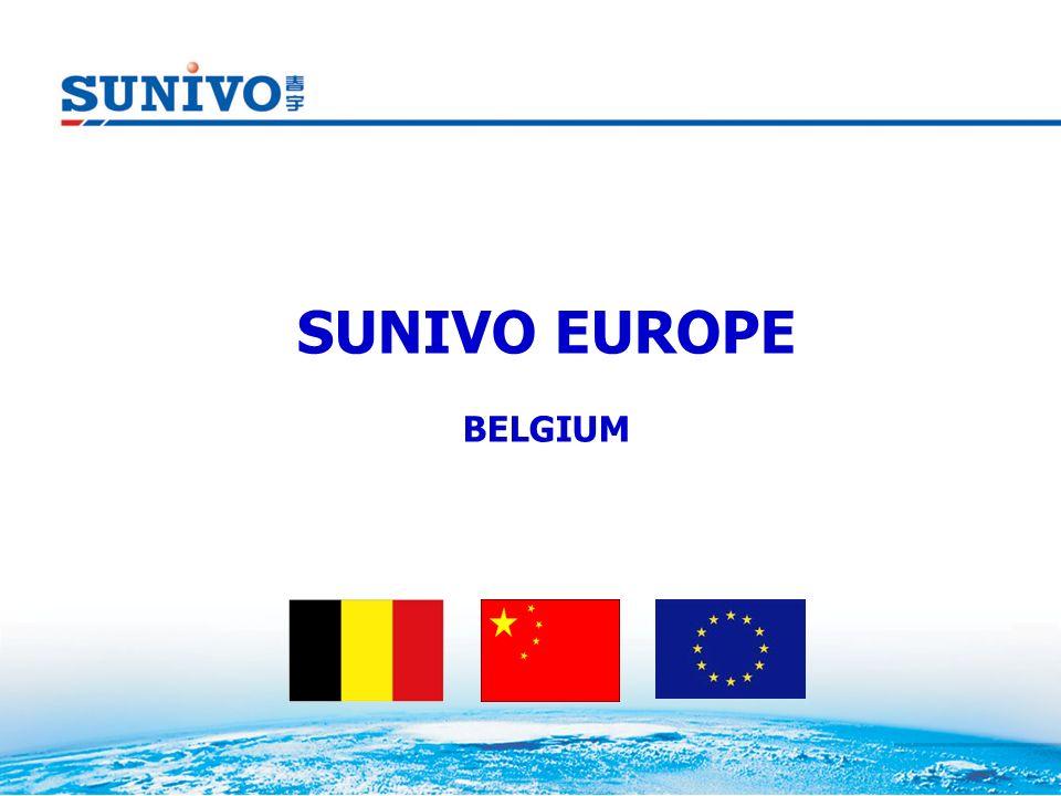 SUNIVO EUROPE BELGIUM