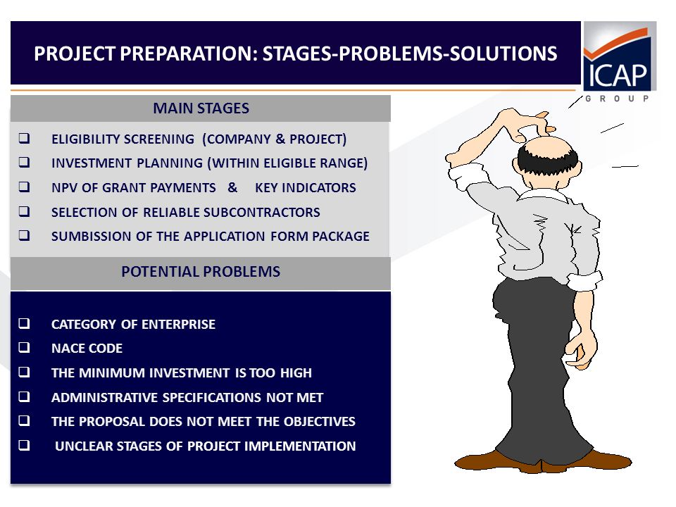 9 PROJECT PREPARATION: CRITICAL SUCCESS FACTORS Obtain professional advice for category of enterprise & NACE code Choose an eligible investment that satisfies the long-term needs Arrange a meeting with a bank for co-funding (if needed) Assign a project leader within the company Develop a realistic action plan and allow for delays Define clearly the technical specifications in the offers Reflect future market & economic changes in the budget Plan the reimbursement scheme (advance, intermediate and final) Describe the competitive position & capacity of your company Give correct contact details & regular check for incoming mail