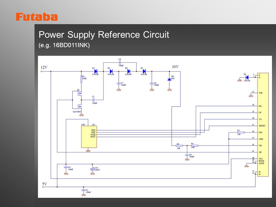 Power Supply Reference Circuit (e.g. 16BD011INK)
