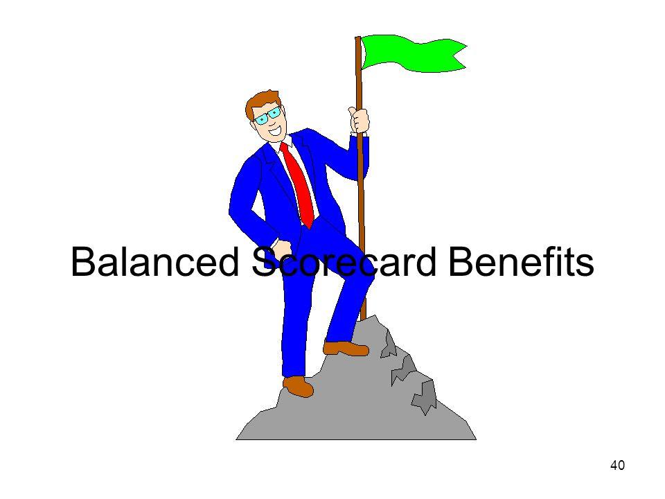 40 Balanced Scorecard Benefits