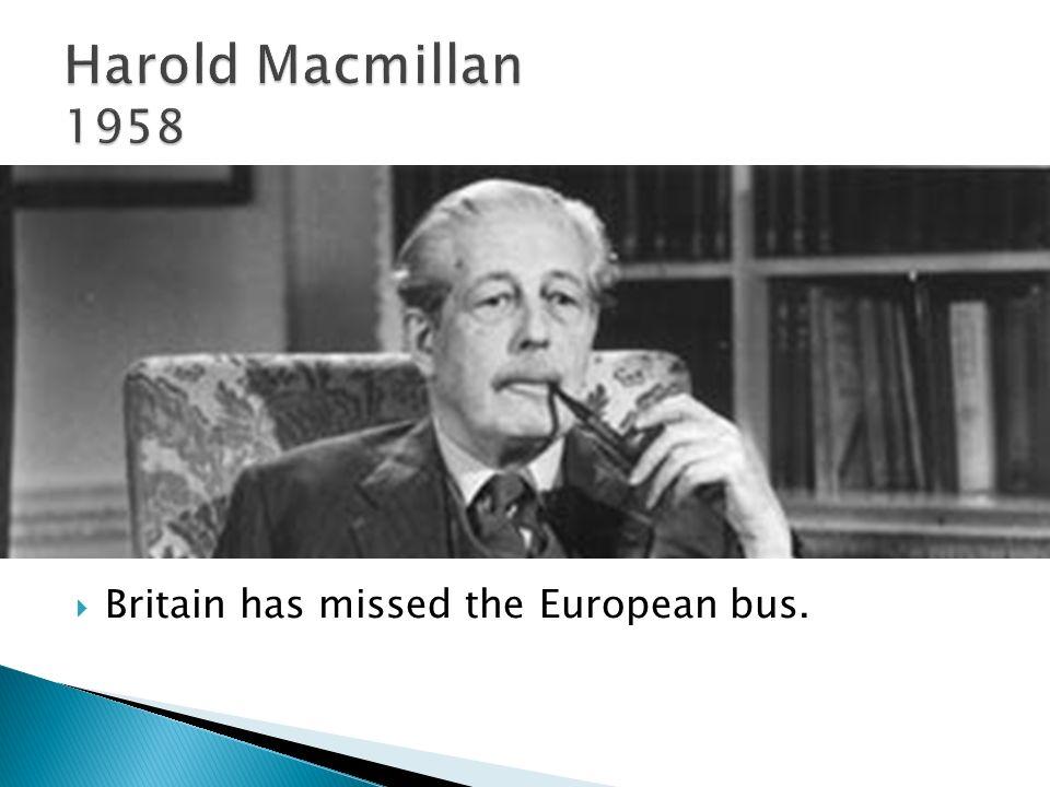 Britain has missed the European bus.