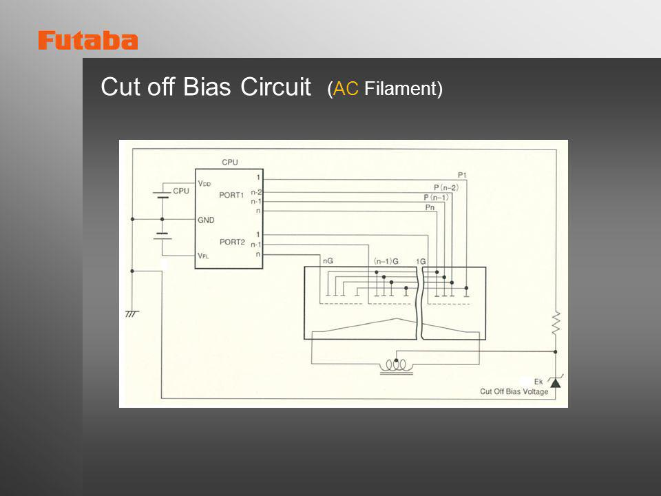 Cut off Bias Circuit (AC Filament)
