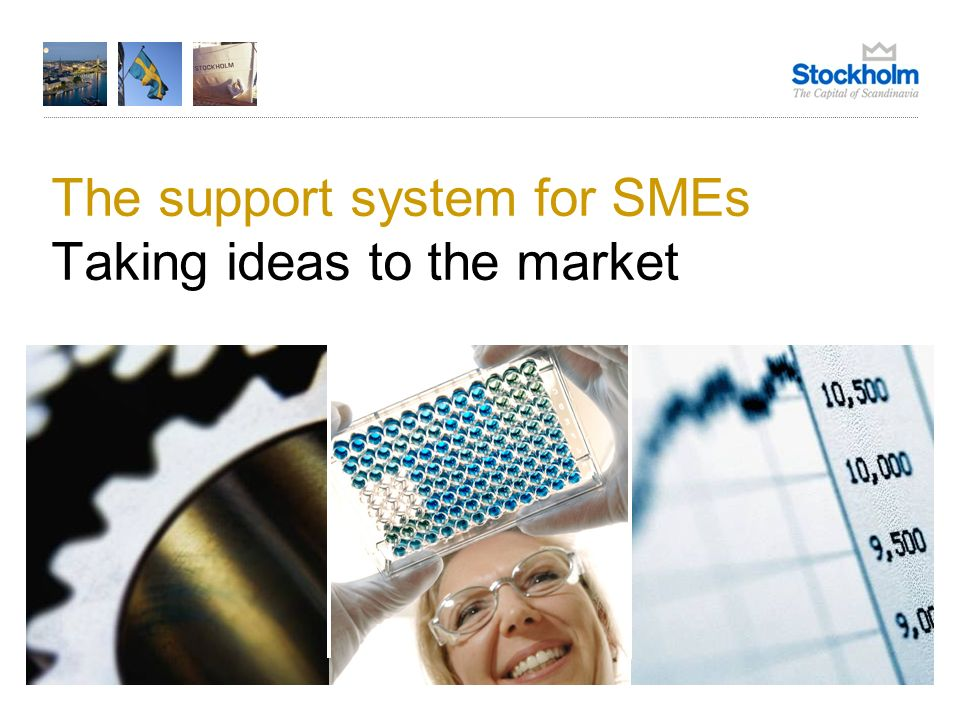 The support system for SMEs Taking ideas to the market
