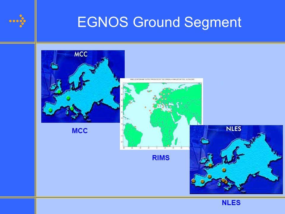 EGNOS Ground Segment MCC RIMS NLES