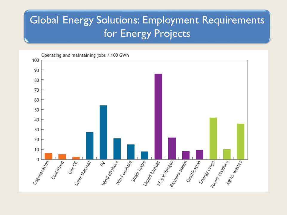 Global Energy Solutions: Employment Requirements for Energy Projects