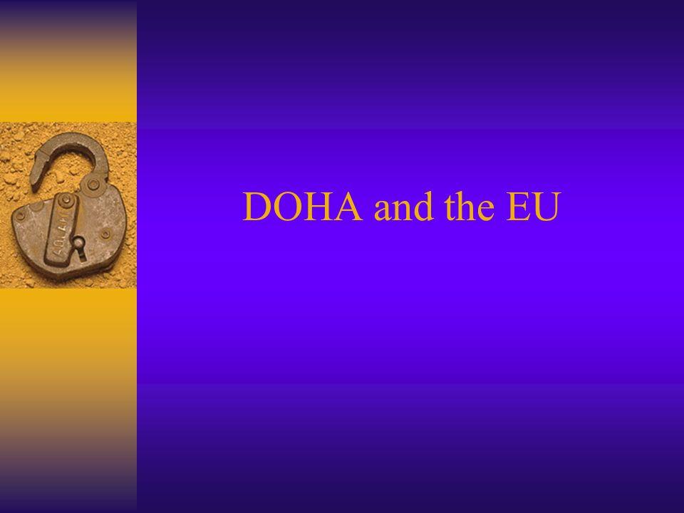 DOHA and the EU