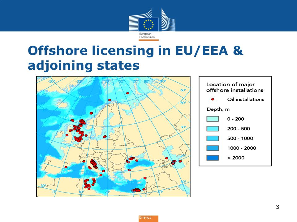 Energy Offshore licensing in EU/EEA & adjoining states 3