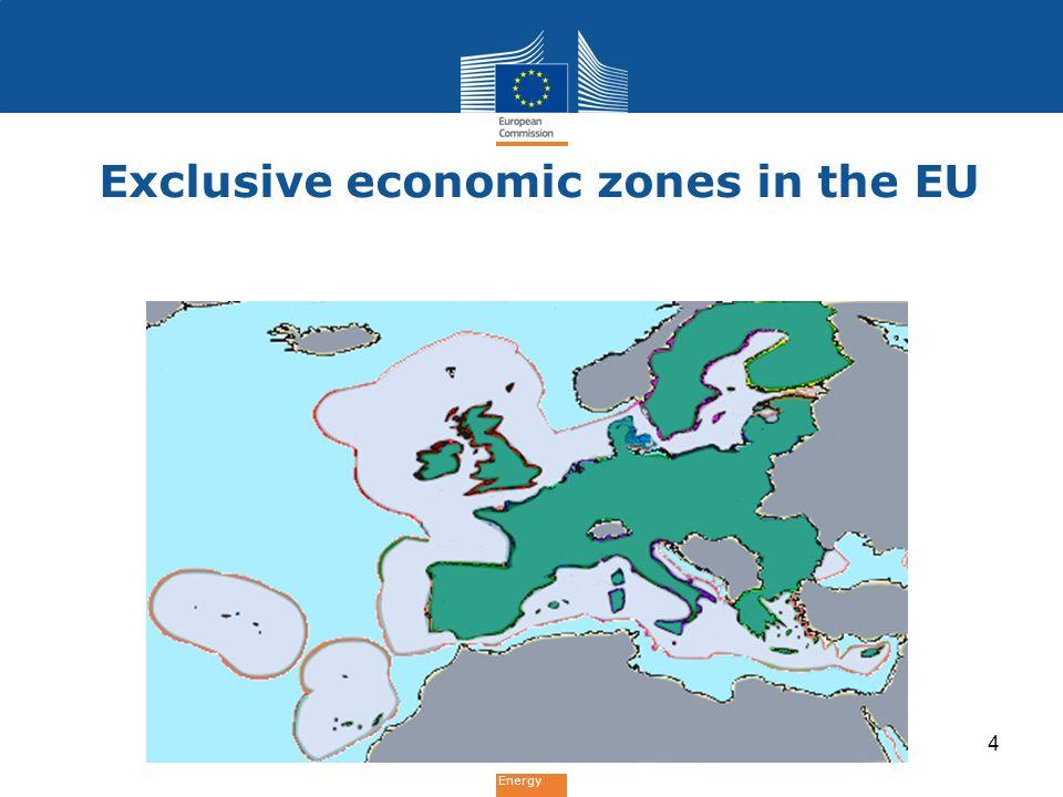 Energy Exclusive economic zones in the EU 4
