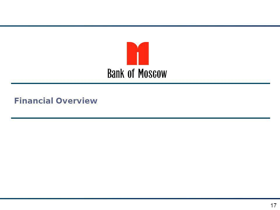 Financial Overview 17