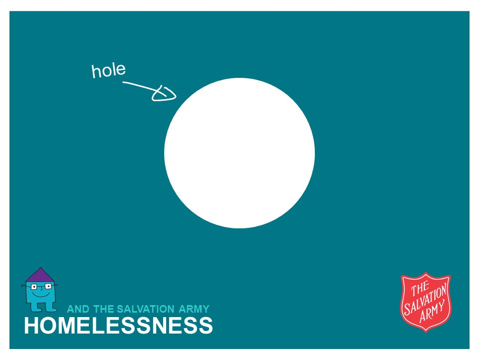 HOMELESSNESS AND THE SALVATION ARMY hole