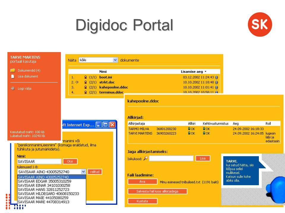 Digidoc Portal