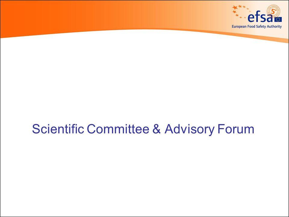 Scientific Committee & Advisory Forum Executive Director