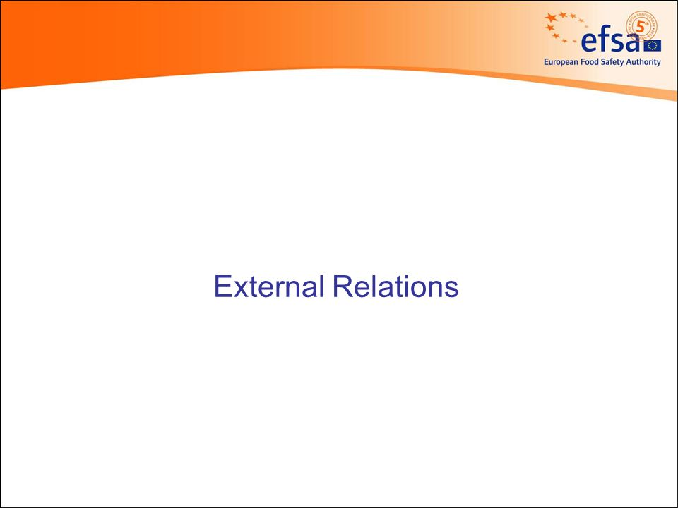 External Relations Executive Director