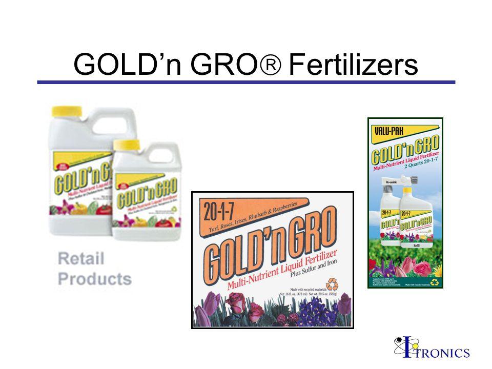 GOLDn GRO Fertilizers
