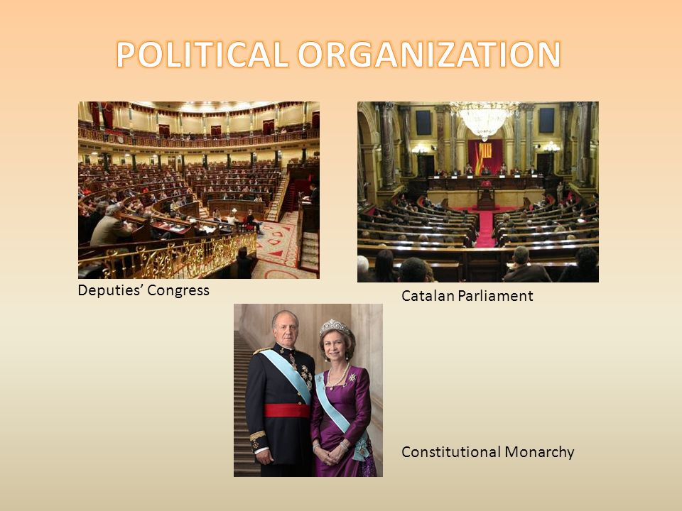 Deputies Congress Catalan Parliament Constitutional Monarchy