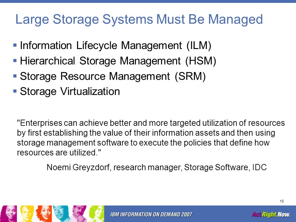 14 Storage Management