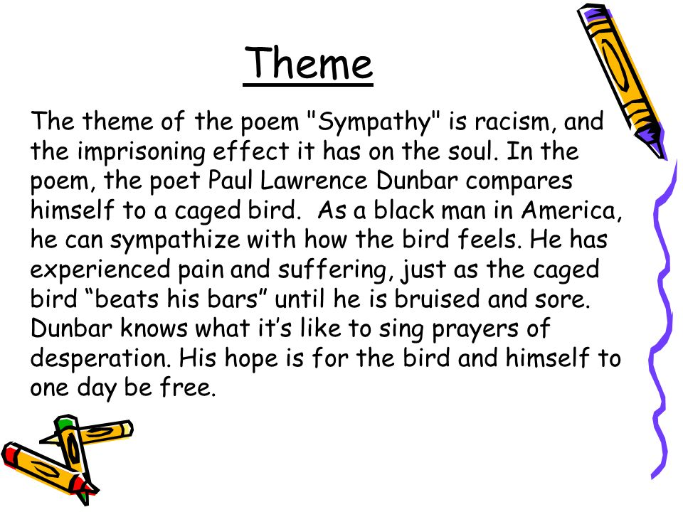 Theme The theme of the poem