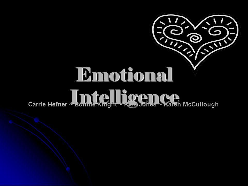 Emotional Intelligence Carrie Hefner ~ Bonnie Knight ~ Risa Jones ~ Karen McCullough