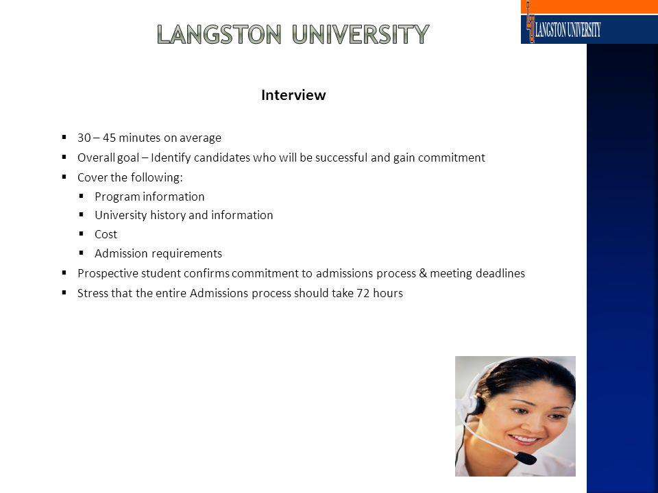 Application/Enrollment Package 1.