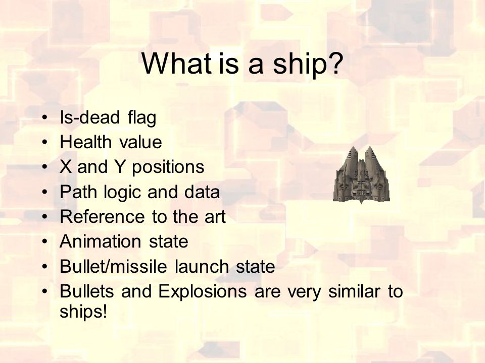 What is a ship.