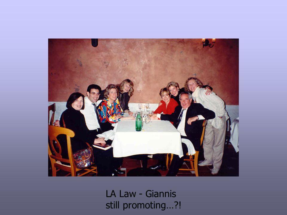 LA Law - Giannis still promoting…?!