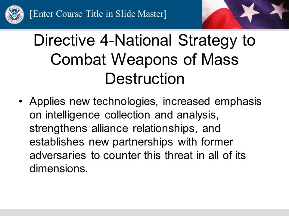 [Enter Course Title in Slide Master] Severe Condition (Red) A Severe Condition reflects a severe risk of terrorist attacks. Under most circumstances,