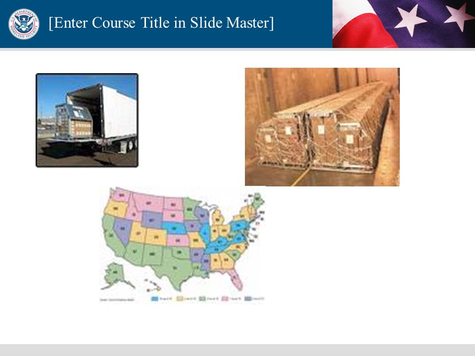 [Enter Course Title in Slide Master] Directive 21-Public Health and Medical Preparedness It is the policy of the United States to plan and enable prov