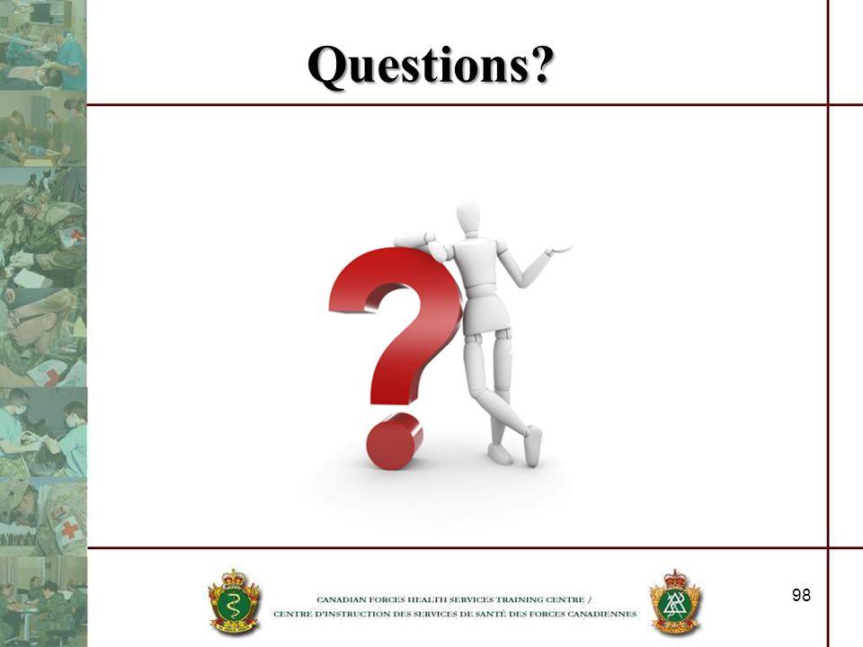 Questions? 98