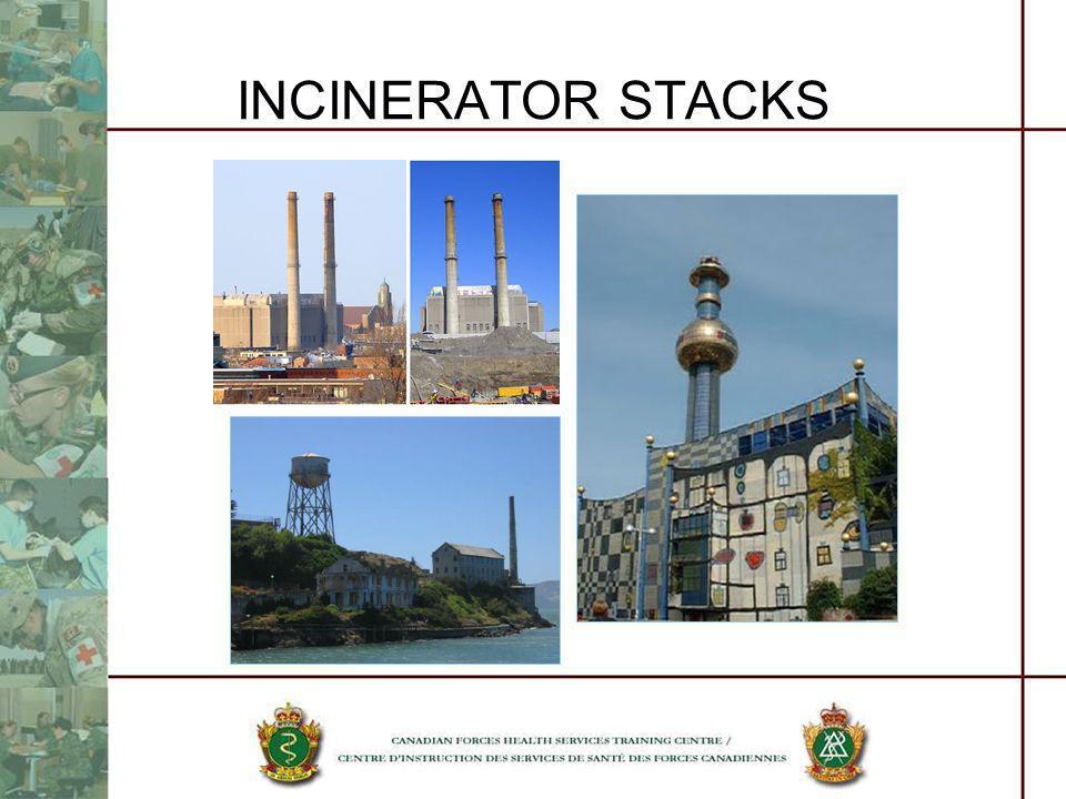 INCINERATOR STACKS