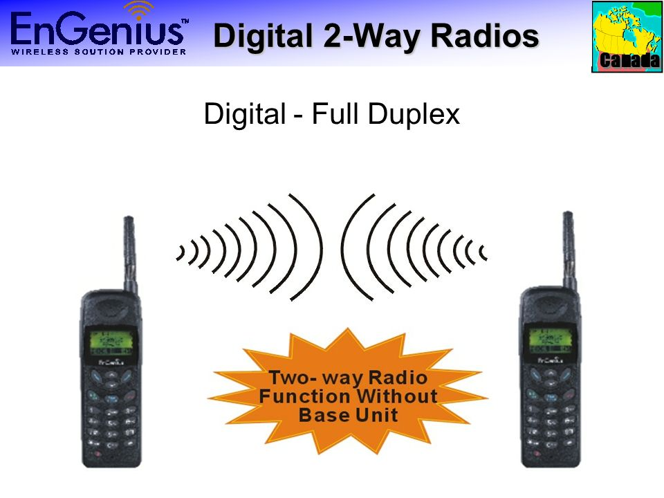 Canada Digital 2-Way Radios Digital 2-Way Radios Digital - Full Duplex