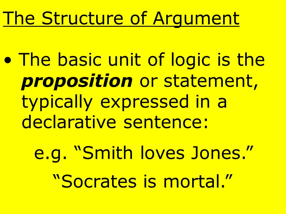 Logic is concerned only with reasoning itself, and the formulation of rules that will help us determine if any particular piece of reasoning is logica