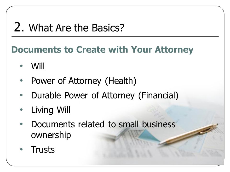 Trusts Grantor - Sets it up Trustee - Executes the instructions Beneficiary – Receives the benefits 3.