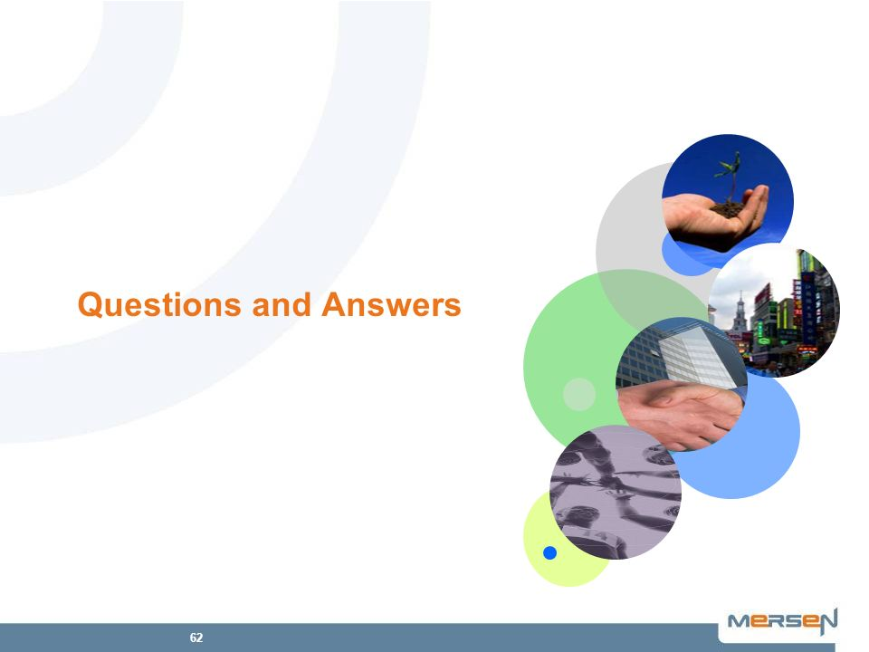 62 Questions and Answers