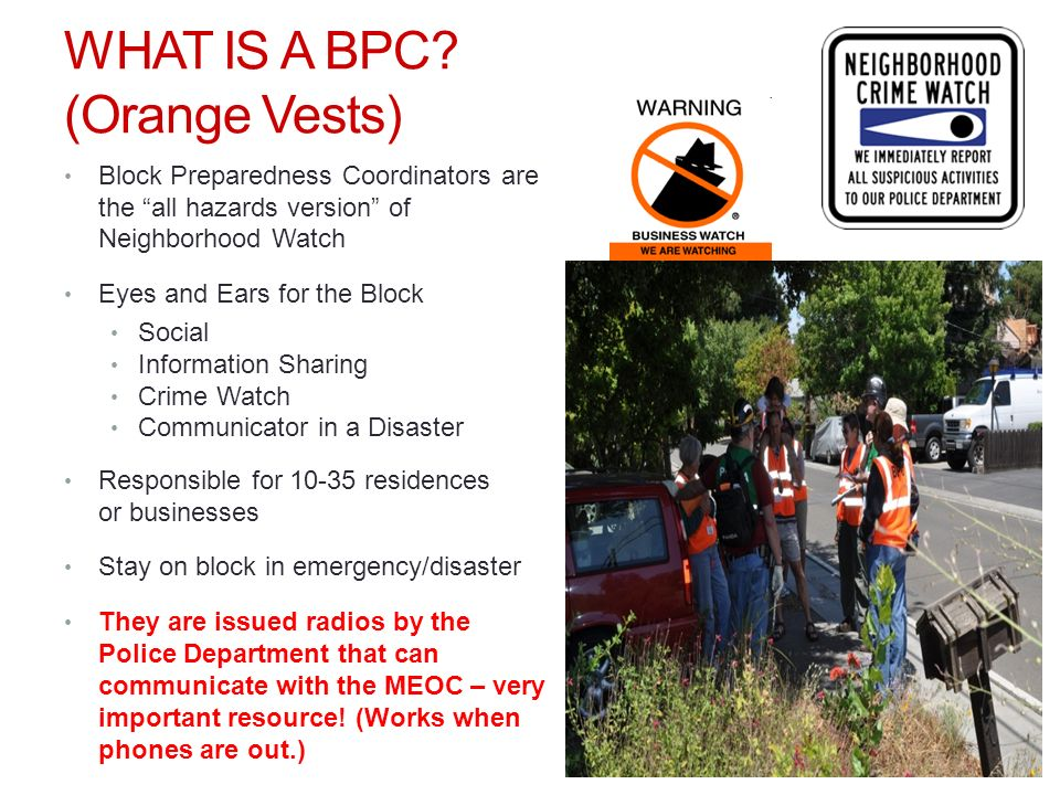 WHAT IS A BPC.