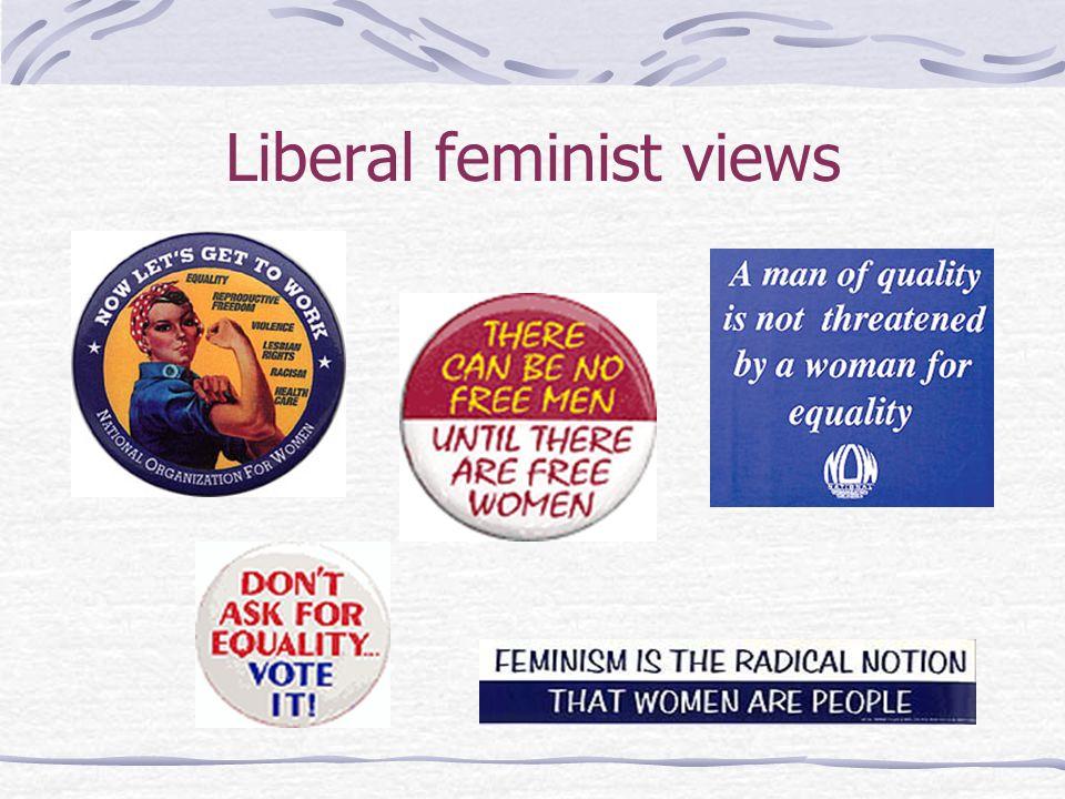 Liberal feminist views