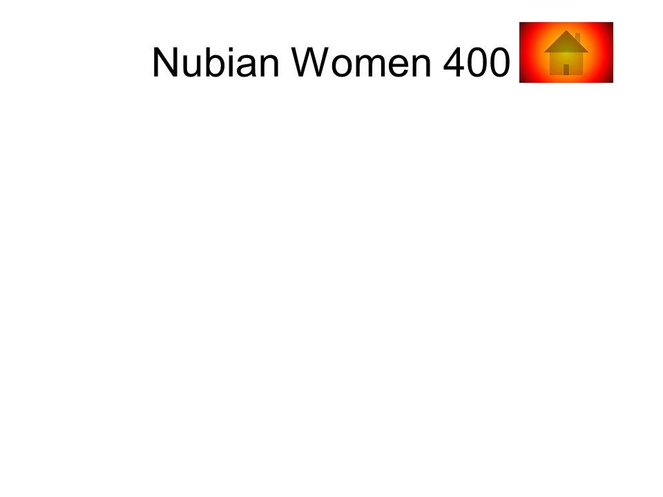 Nubian Women 400