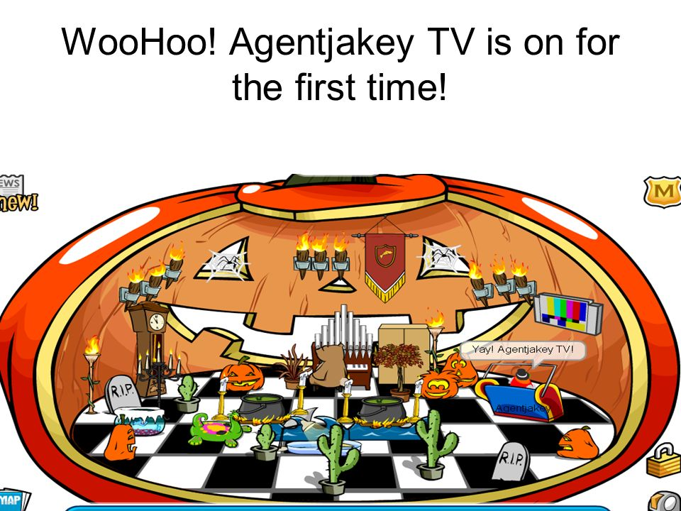 WooHoo! Agentjakey TV is on for the first time!
