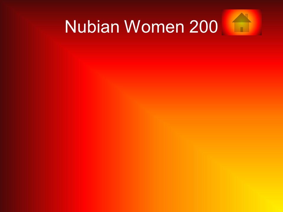 Nubian Women 200